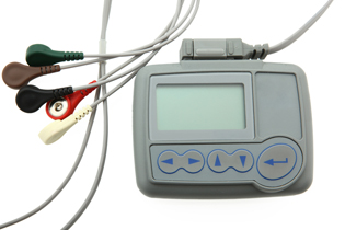 holter monitor for 24 hour heart arrhythmia testing
