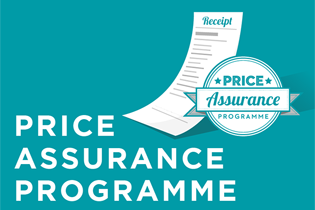 price assurance programme banner