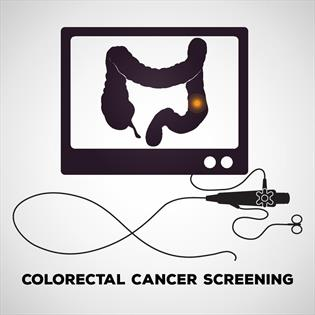 Colonoscopy screening test for colorectal and colon cancer