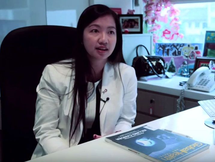 Dr Felicia Tan explains mammogram screening