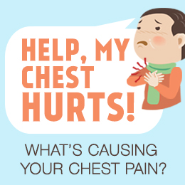 What's causing your chest pain?