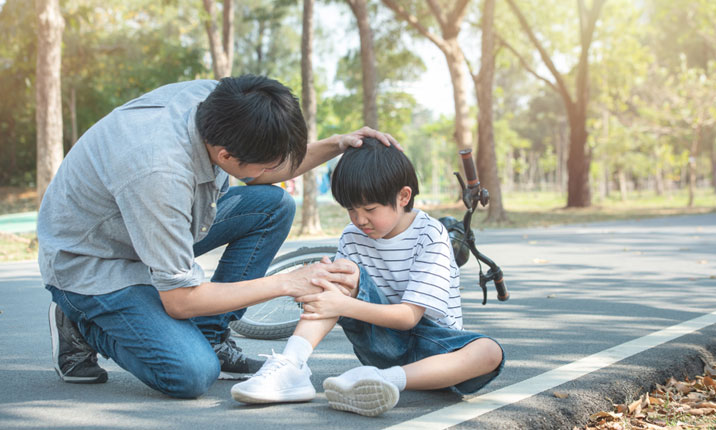 What to do when your child falls?
