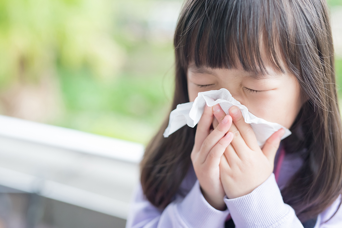Why children, isolated from infections, get sick more often