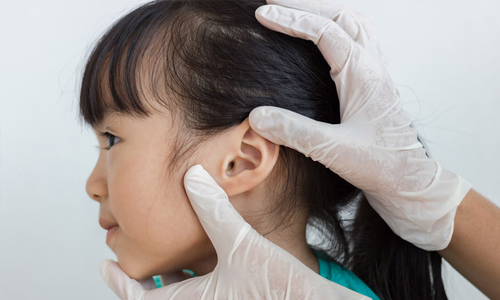 Childhood hearing loss - Screening for hearing loss
