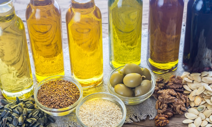 Cook with unsaturated oils