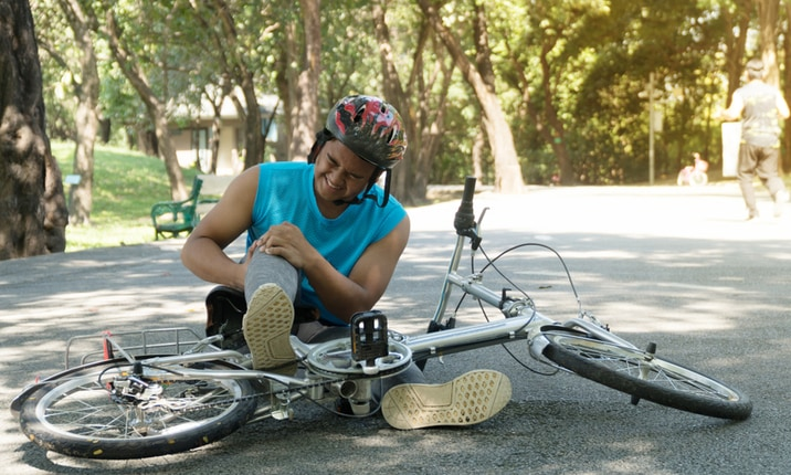 Cycling accident and recovery