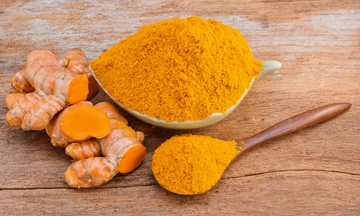 Healthy Indian spices - Turmeric