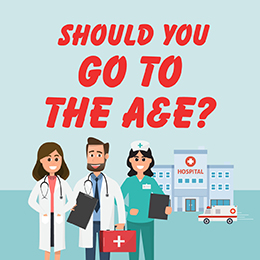 Should you go to the A&E?