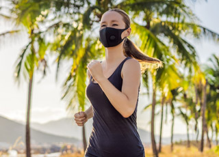 Wearing a Mask While Exercising Outdoors