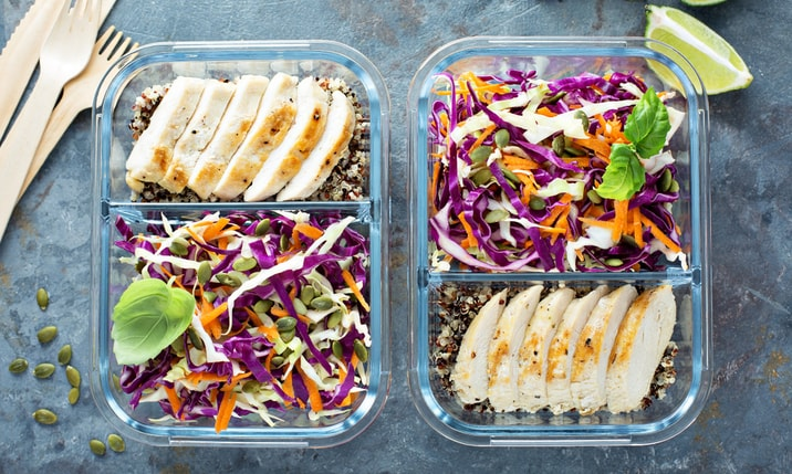 Many mini meal solutions