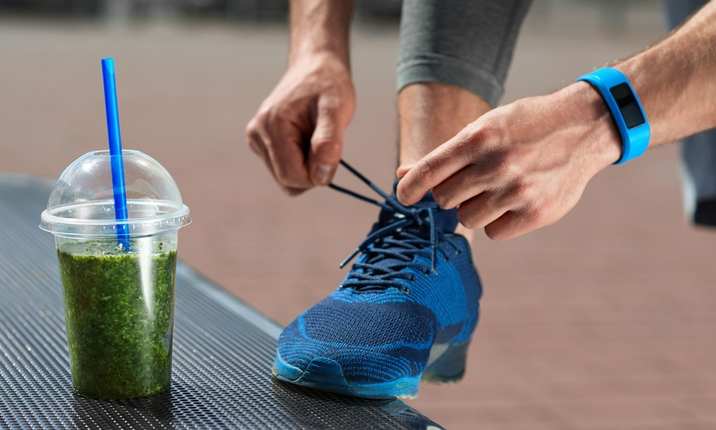 Drink a smoothie after a workout