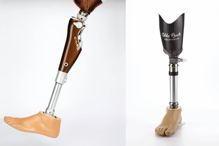 Prosthetics for the knee and the hip
